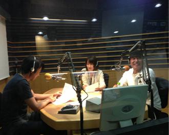 FM大阪 放送収録